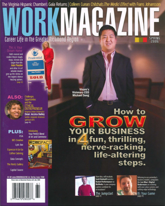 WORKMAGAZINE — April 2006