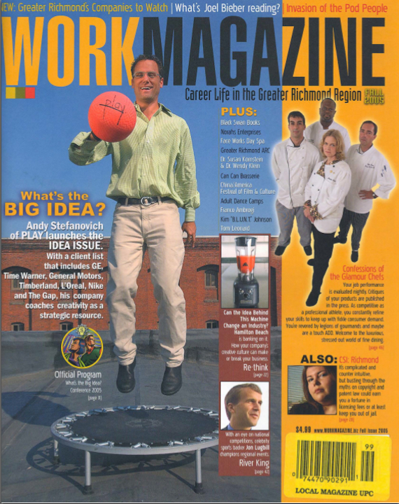 WORKMAGAZINE — October 2005